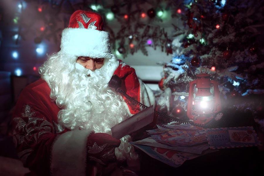 Звонок от Деда Мороза